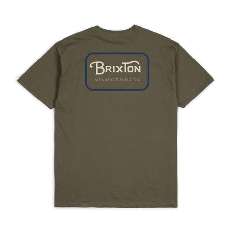 【BRIXTON】GRADE S/S STANDARD TEE