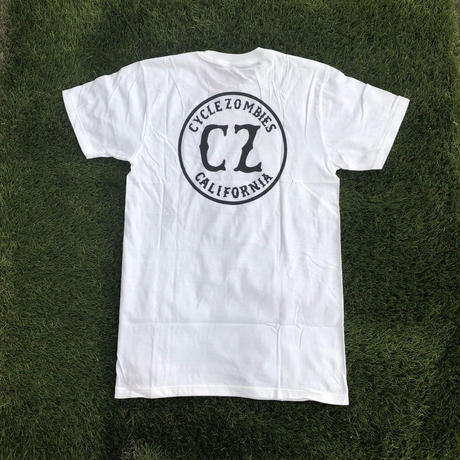 【CYCLE ZOMBIES】CZ WHITE T-SHIRT
