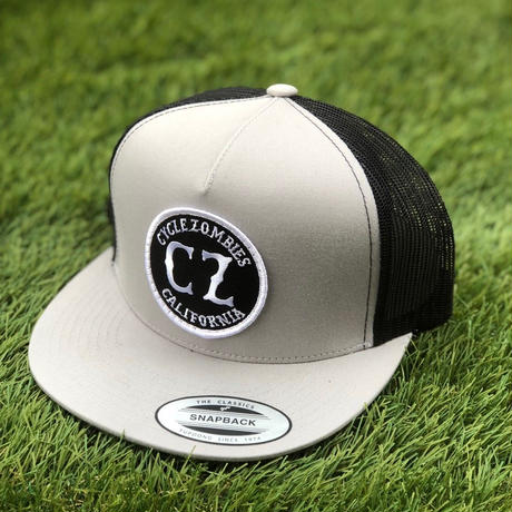 【CYCLE ZOMBIES】CALIFORNIA Twill Trucker Hat