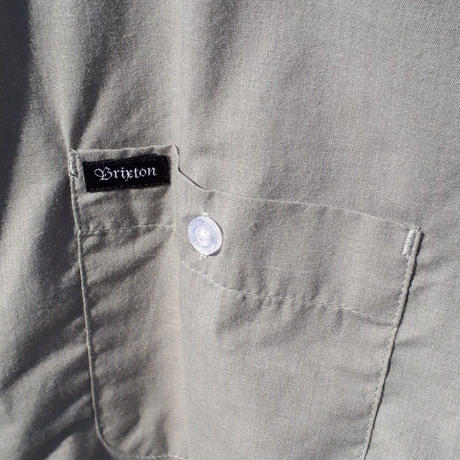 【BRIXTON】CHARTER AS S/S WVN
