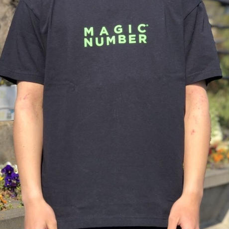 【MAGIC NUMBER】US COTTON PRINT TEE