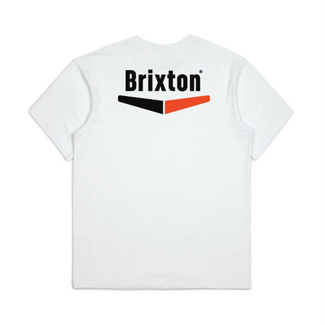 2019spring model  ブリクストン【BRIXTON】VELOCITY S/S POCKET   color : White