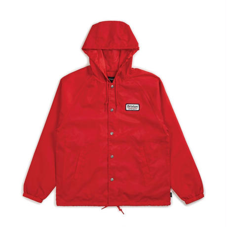 2018秋冬モデル ブリクストン【BRIXTON】PALMER HOOD JACKET   color : Red / Navy
