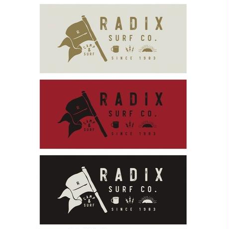 2018 SURF CAMP 第2弾‼【RADIX ORIGINAL】SURF CAMP STICKER W18cm