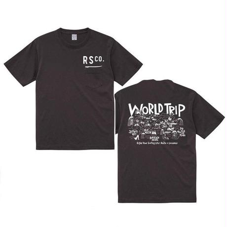 2019 RADIX x LOOSEMAN コラボ企画!【RADIX ORIGINAL】P x L WORLDTRIP POCKET TEE
