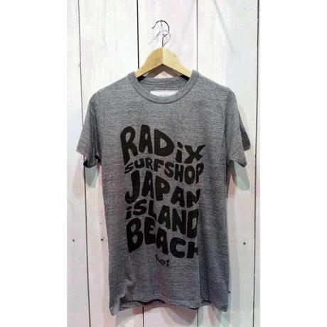 冬のFINAL SALE!【RADIX ORIGINAL】ウェイブTシャツ カラー:グレー