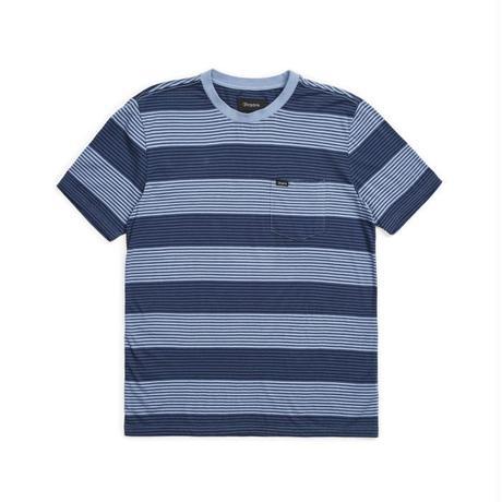 【BRIXTON】pocket-knit-twilight blue/washed navy