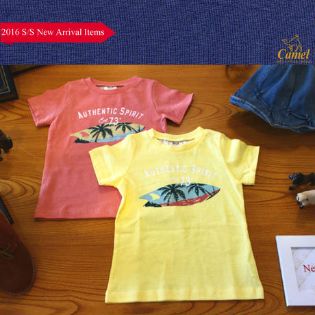 やしのきイラスト半袖Tシャツ 韓国子供服