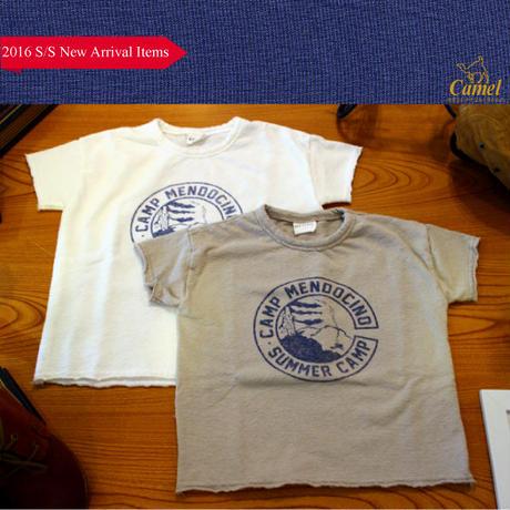 タオル地ロゴイラスト半袖Tシャツ 韓国子供服