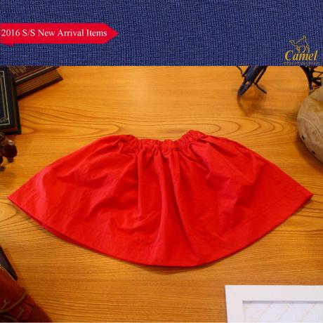 韓国子供服 シンプル台形スカート 韓国子供服