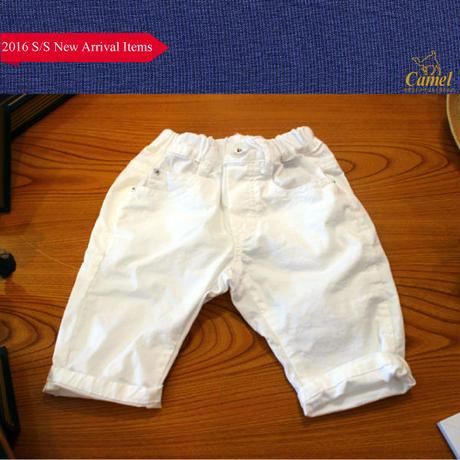 6分丈シンプルショートパンツ 韓国子供服