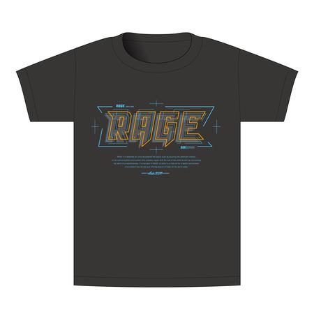 【BEAMSデザイン】RAGE ASIA 2020 オフィシャルTシャツ  TECHNO BLACK