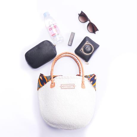 ホワイトサイザル+インナーバッグ【Orange】
