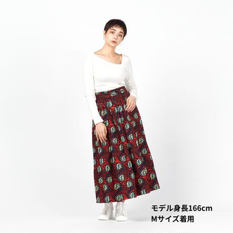 ロングスカート【Red】