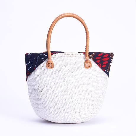 ホワイトサイザル+インナーバッグ【Navy】
