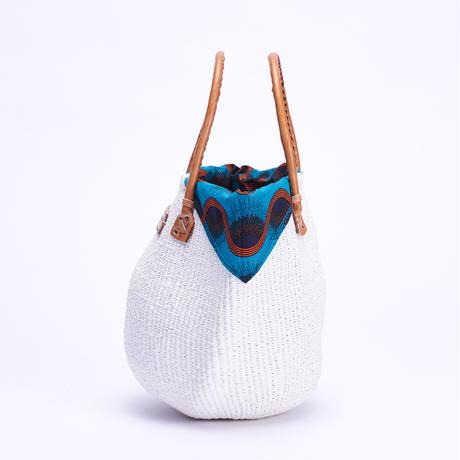 ホワイトサイザル+インナーバッグ【SkyBlue】