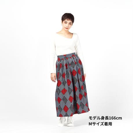 ロングスカート【Gray】