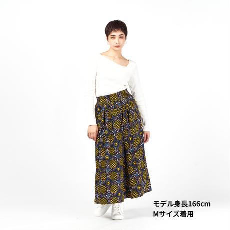 ロングスカート【Purple】