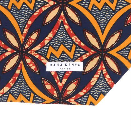 アフリカ布インナーバッグ【Orange】