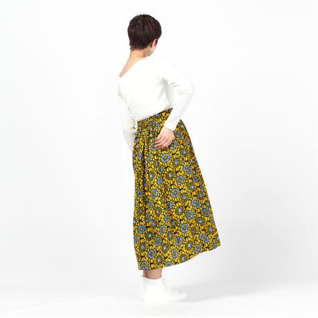ロングスカート【Yellow】