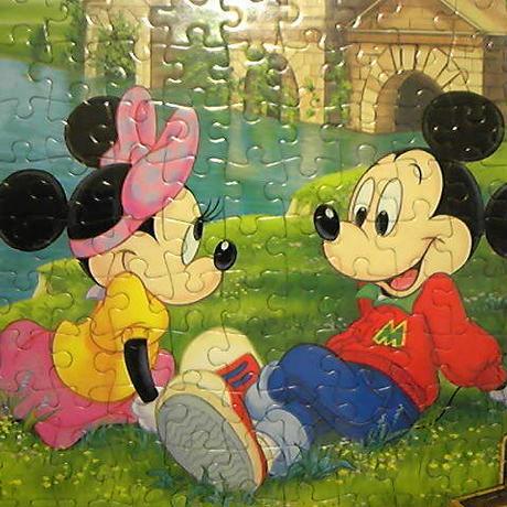 ▼00 ジグソーパズル ミッキーマウス