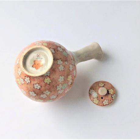 赤彩舞桜 急須|内田 裕子
