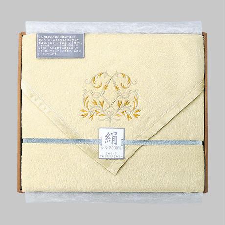 西川リビング シルク毛布