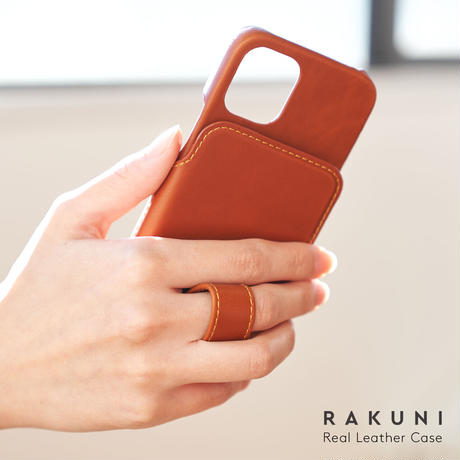 iPhone12 mini 本牛革 RAKUNI iPhoneケース
