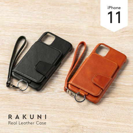 iPhone11|本牛革|RAKUNI iPhoneケース(XR兼用)