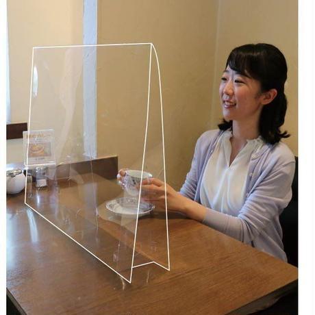 飛沫防止透明パーテーション(Mサイズ)1.0mm厚 051079