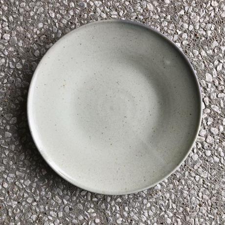 藁白釉尺皿