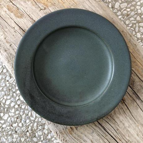 淡路島ブルーリム皿