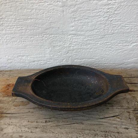 鉄釉耐熱グラタン皿