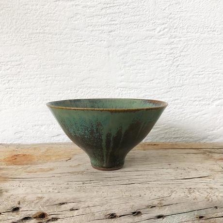 飴 × 緑釉碗(大)
