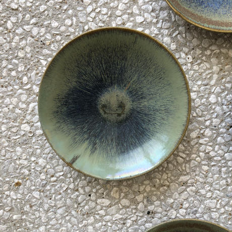 飴 × 緑釉 鉢