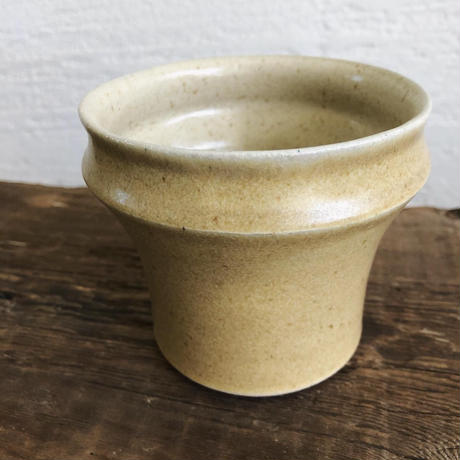 黄釉アイス珈琲カップ