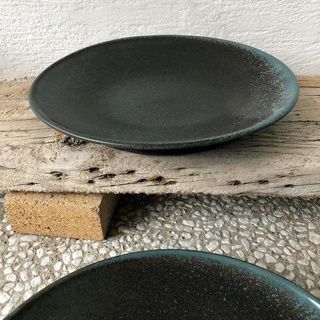 淡路島ブルー尺皿