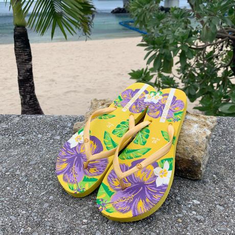 レディースビーチサンダル / ハイビビーチ【TH-SD665】