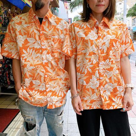アロハシャツ 2トーンリーフ S/M/L/XL