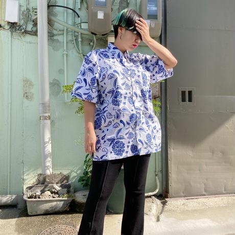 男女兼用アロハシャツ/エスニカパイン【T6CP11】