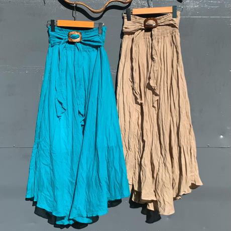 2wayコットンロングスカート