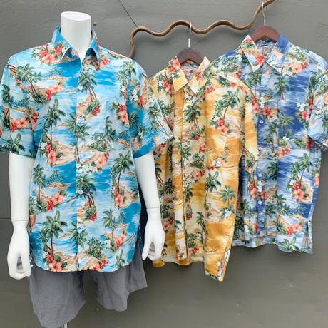 男女兼用アロハシャツ/オーシャン