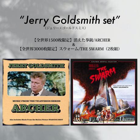 ≪ジェリー・ゴールドスミス作品セット≫消えた拳銃/ARCHER + スウォーム 通常¥11,418