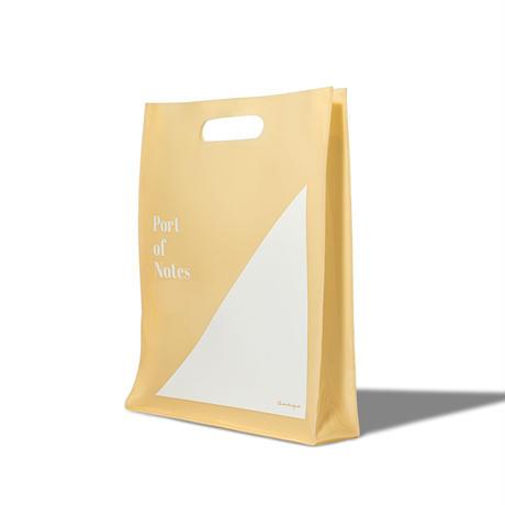 Onkyo × Port of Notes レコードバッグ[PVC] ベージュ