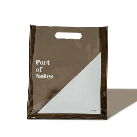 Onkyo × Port of Notes レコードバッグ[PVC] クリアーブラック