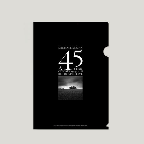 【A 45 YEAR ODYSSEY (Clear file) 】Michael Kenna 新商品