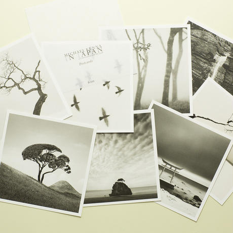 【 IN JAPAN Conversation with the Land (Postcards) 】Michael Kenna  コレクターズアイテム