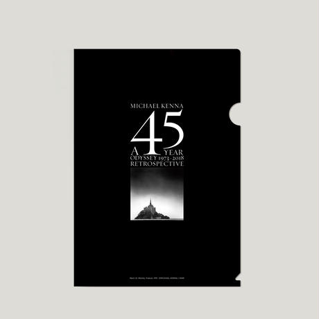 【 A 45 YEAR ODYSSEY (Clear file) 】Michael Kenna