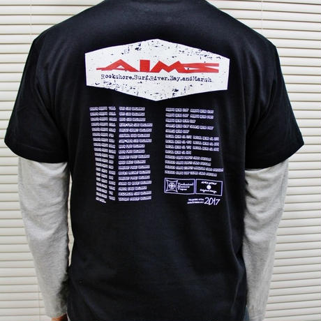 AIMS 2017年限定 ブラックTシャツ