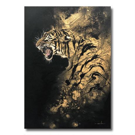 風は虎に従う【絵画30号】